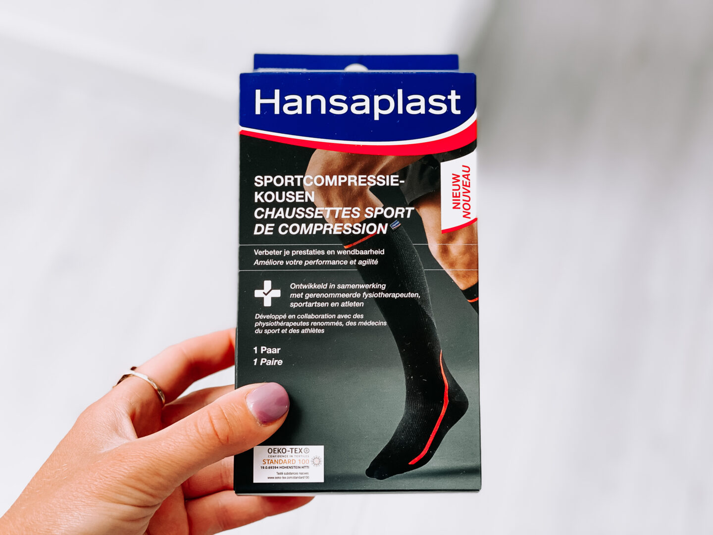 Review: Hansaplast Sportcompressiekousen