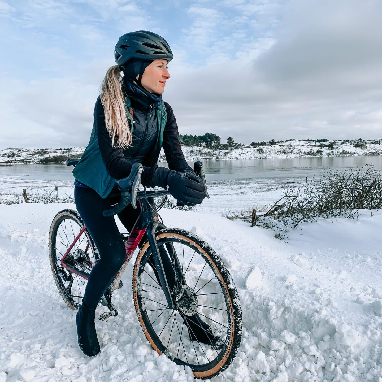 Mijn ervaringen met fietsen in de sneeuw